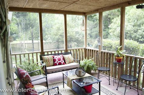 Screen Porch Windows Decor Screened Porch Decorating Cabin Pinterest