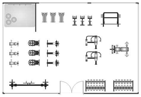 Room Floor Plan Free by Gym And Spa Area Plans Gym Floor Plan Gym Layout Plan