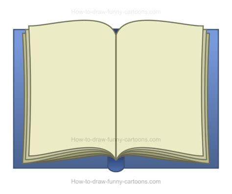animated picture of a book how to draw a book