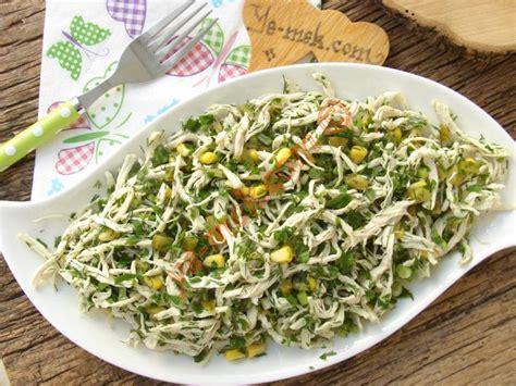 yemek tarifi karides salatasi resimli 28 yeşillikli tavuk salatası nasıl yapılır 6 8 resimli