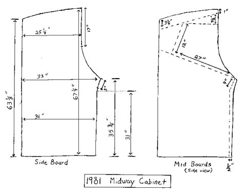 Pacman Cabinet Plans by Index Of Arcade By Title Pac