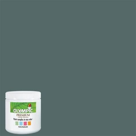 olympic 8 oz juniper berry interior satin paint sle d615juniperber