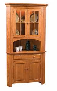 Home shop shop by brand amish made shaker corner china cabinet