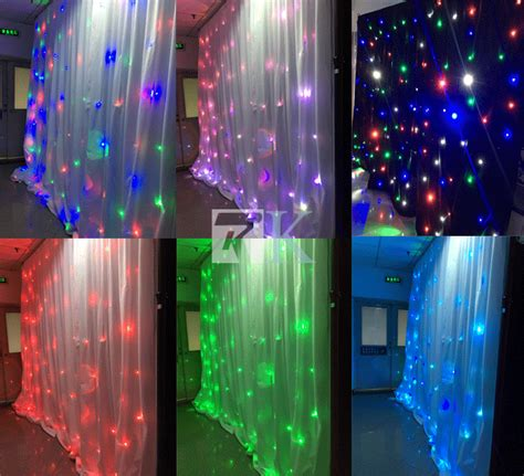led star curtain led rgb star curtain star light curtain backdrop wall
