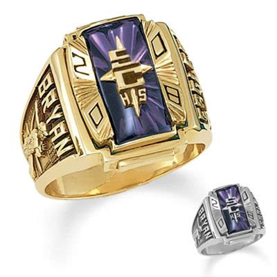 s 10k gold crestline legacy high school class ring by