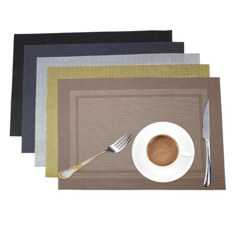 Aliexpress Buy Woven Vinyl Placemat by Get Cheap Woven Vinyl Placemats Aliexpress