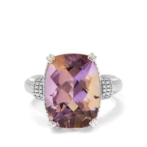 Ametrine 4 65ct 9 65ct anahi ametrine ring in sterling silver endource