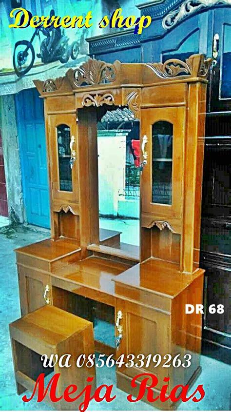 Meja Rias Kayu Murah harga meja rias murah wa 085643319263 dari kayu berkualitas