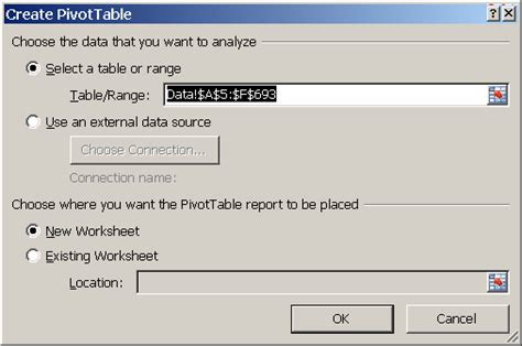 how do i create a pivot table in excel how to create a pivot table learn microsoft excel five