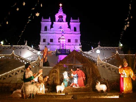 see goa through my eyes christmas crib