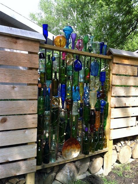 Train Murals For Walls how to build a bottle privacy screen diy projects for