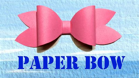 diy paper decorations paper bow ribbon easy paper