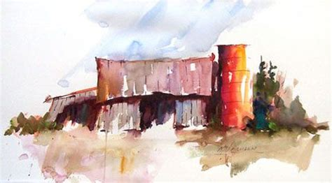 watercolor tutorial buildings 17 best images about old barns watercolor on pinterest