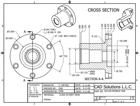 Autocad 2d Mechanical Practice Drawings Pdf