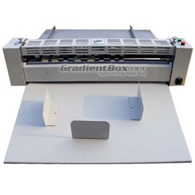 Alat Pemotong Kertas Elektrik Mesin Creasing Otomatis Pelipat Kertas Elektrik