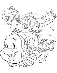 free coloring pages ariel printable