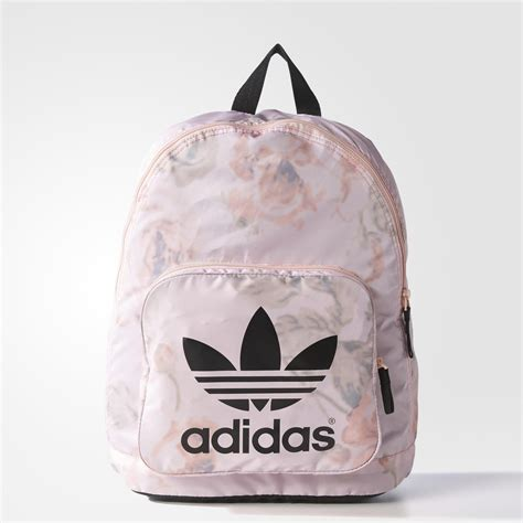 adidas classic trefoil backpack light pink mochila adidas color rosa pastel throw it in the bag