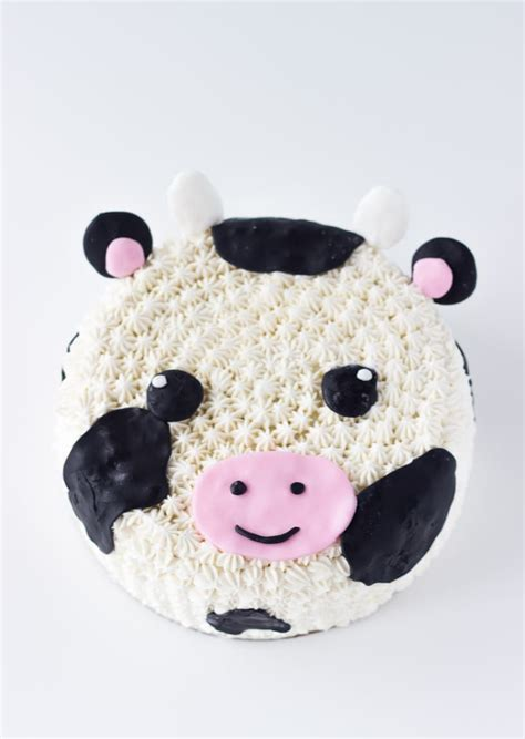 decorated cow cake recipe blahnik baker
