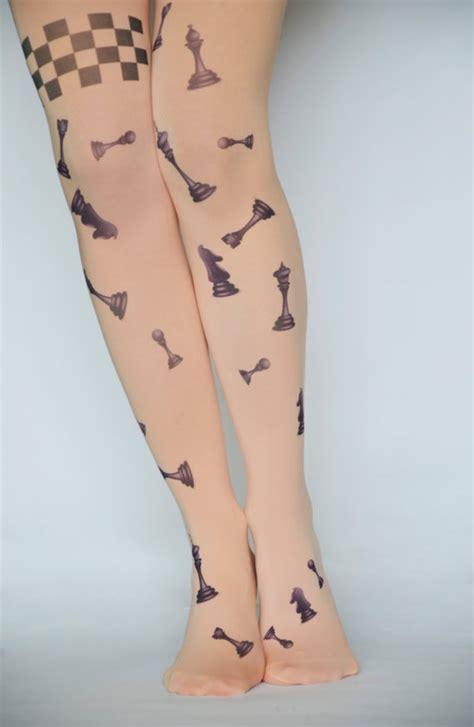 legs chess tattoo