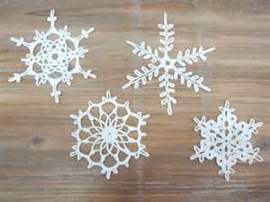 katrinshine crochet snowflakes
