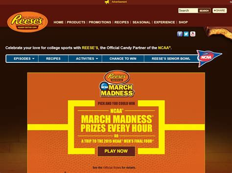 March Madness Sweepstakes 2015 - reese s ncaa march madness make the crowd go wild sweepstakes sweepstakes fanatics