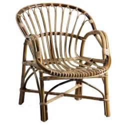 fauteuil en rotin vintage brin d ouest