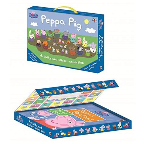Peppa Pig Peppa Duper peppa pig activity and sticker collection 10 books 6