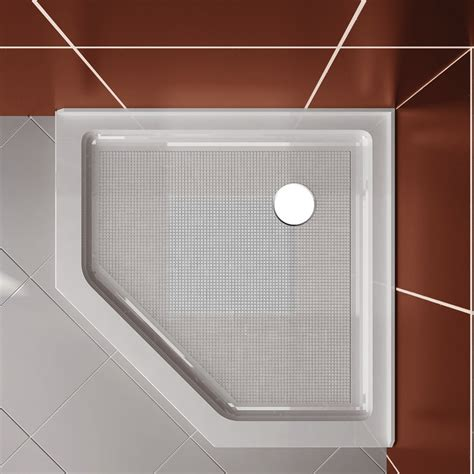 Angled Shower Door Sweep Shower Neo Angle Corner Shower Glass Enclosure W Base Backwall 38 4 Quot Ebay