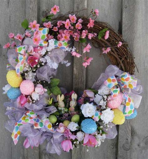 easter wreath ideas 15 diy wreath ideas for easter pretty designs