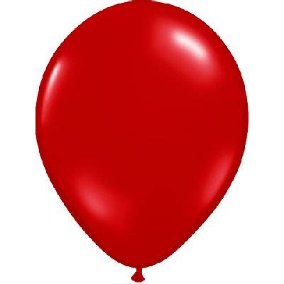 11'' ruby red helium balloon (per pc) balloons dubai