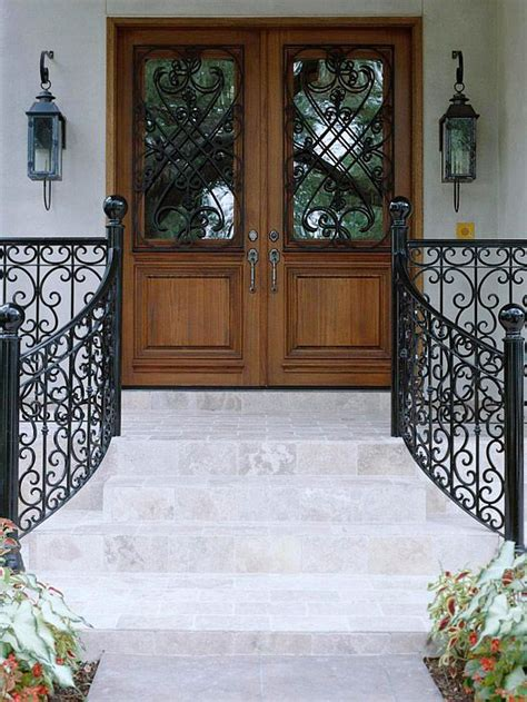 11 Best Images About Wrought Iron Railings On Pinterest Iron Front Doors For Homes
