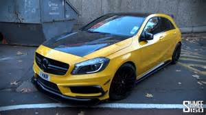 mercedes a45 amg black series revozport kit and revs