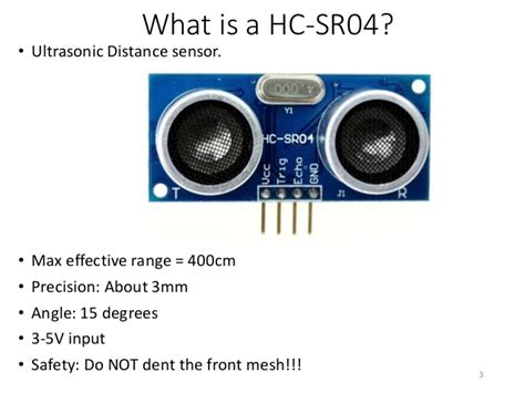 Sensor Ultrasonik Hcsr 04 hc sr04 ultrasonic sensor with arduino