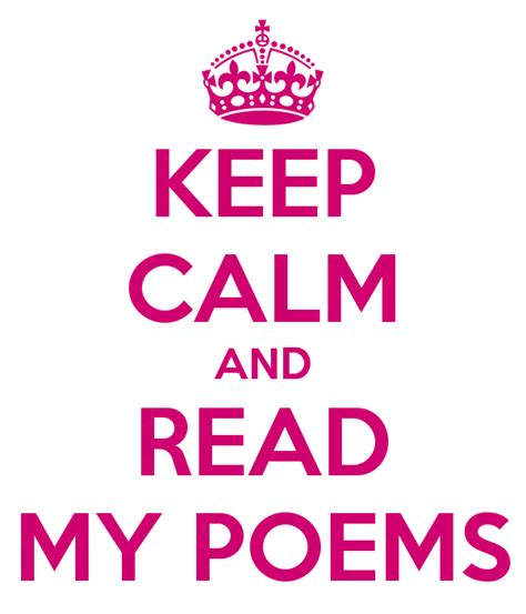 read my keep calm and read my poems poster juliet capulet keep