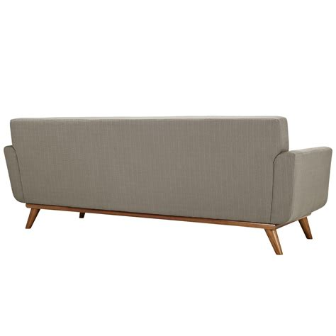 sofa größe modway engage loveseat and sofa set of 2 in granite