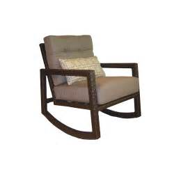 Patio Rocking Chair by Wicker Allen Roth Lawley Patio Rocking Chair Amp Side Table