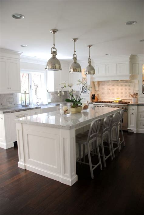 white kitchen with island 30 kitchen islands with seating and dining areas digsdigs