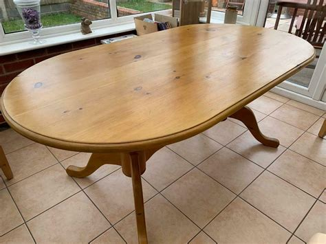 large oval dining table  norwich norfolk gumtree