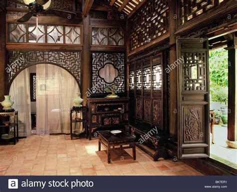 viet house traditional style vietnamese house hanoi vietnam indochina stock photo royalty