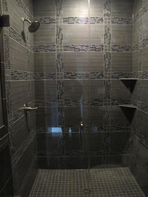 contemporary bathroom tile designs glass tile shower contemporary tile chicago by schilling