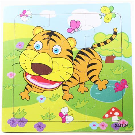 Mainan Edukatif Edukasi Pembelajaran Anak Puzzle Kayu 4x4 Pk112 jual mainan edukatif edukasi pembelajaran anak puzzle