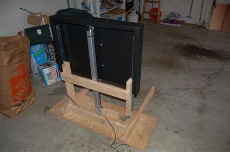diy tv lift cabinet woodwork define diy tv lift cabinet plans
