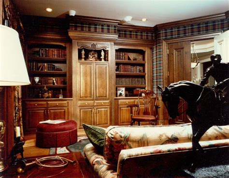 Country Style Home Interior 30 classic home library design ideas imposing style