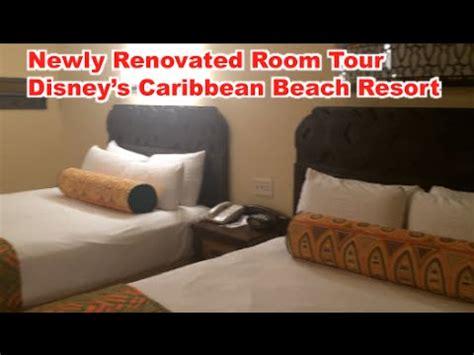 renovated room tour caribbean beach resort youtube