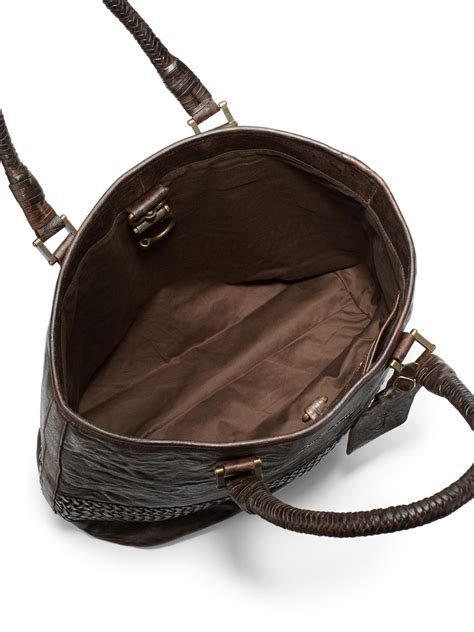 Marc Mesh Lace Robert Bag On Bags It Or It by Lyst Robert Graham Hobbs Braided Trim Leather Tote In