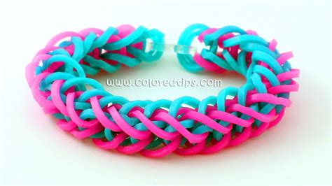 hir band loom band rainbow loom french braid bracelet tutorial idunn goddess