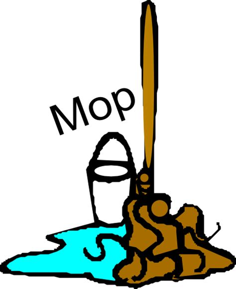 chores clipart chore mop clip at clker vector clip
