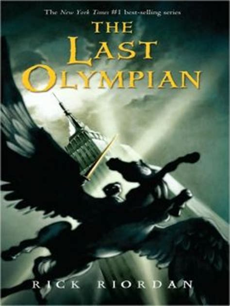 Percy Jackson And The Olympians 5 The Last Olympian Rick Riordan the last olympian percy jackson and the olympians series 5 by rick riordan 9781410416780