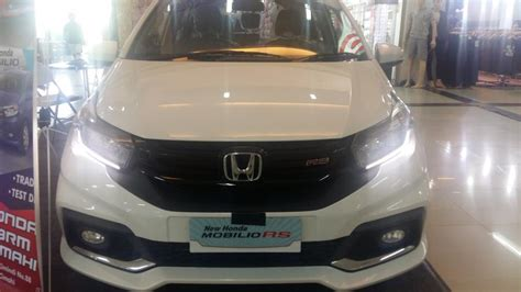 Covertutup Mobil Honda Mobilio F New Warna honda new mobilio facelift harga heran dp 14jtan
