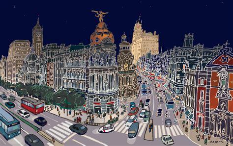 cuadros de jorge arranz alcala gran v 237 a - Cuadros Gran Via Madrid